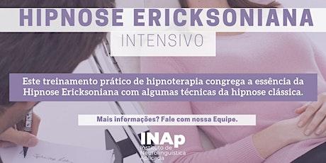 FORMAÇÃO EM HIPNOSE E HIPNOTERAPIA ERICKSONIANA - INTENSIVO ingressos