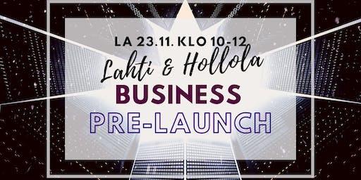 Business Pre Launch Lahti & Hollola
