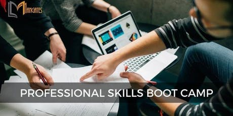 Professional Skills 3 Days Virtual Live Bootcamp in Sydney tickets