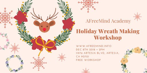 Holiday Wreath Workshop for Kids