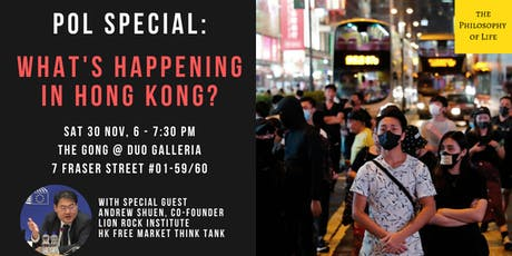 What's Happening In Hong Kong? tickets