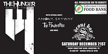The Hunger w/ Anova Skyway, Flowerettes, & more tickets
