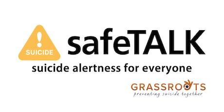 SafeTalk Training Course tickets