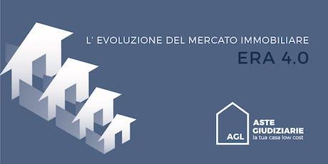 L' EVOLUZIONE DEL MERCATO IMMOBILIARE biglietti