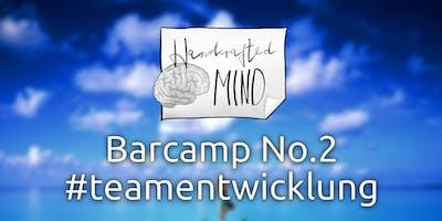 Barcamp No.2 #teamentwicklung