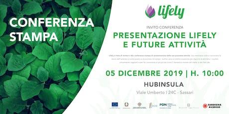 PRESENTAZIONE LIFELY E FUTURE ATTIVITÀ biglietti