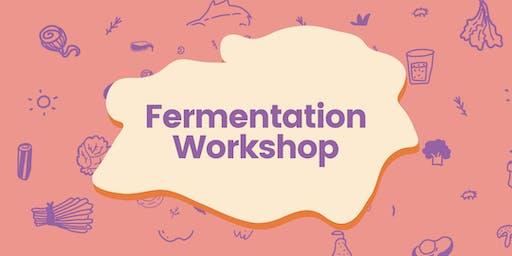 Fermentation Workshop - sauerkraut, hot sauce, kefir & kombucha.