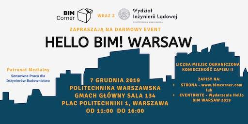 Hello, BIM! Warsaw 2019