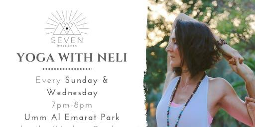 Yoga at Umm Al Emarat Park