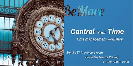 Think. Plan. Do. | Time management workshop tickets