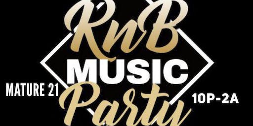 The All Black RnB Party @25th St Taproom Oakland