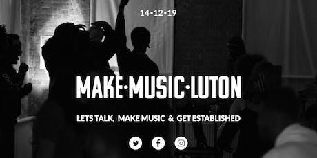 Make Music Luton tickets