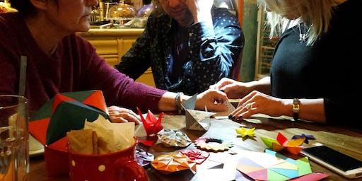 Kusudama - an amazing origami workshop