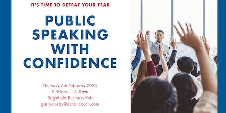 Public Speaking With Confidence tickets