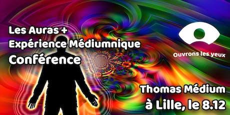 Conférence : Les Auras + Expérience Médiumnique par Thomas Médium billets