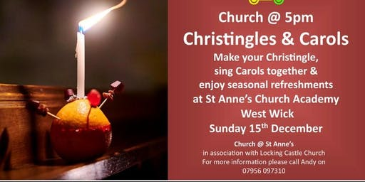 Christingle Making and Carols by Candlelight