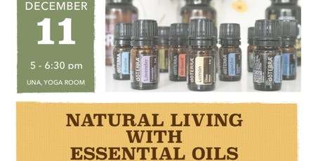 Natural living with Essential oils tickets