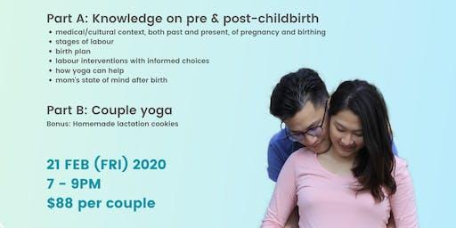 Prenatal Couple Yoga Workshop