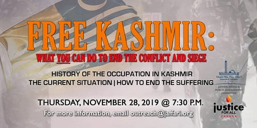 Free Kashmir: What you can do to end the conflict and siege