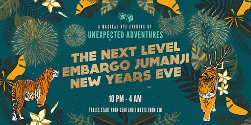 JUMANJI: The Next Level NEW YEAR'S EVE at Embargo Republica!