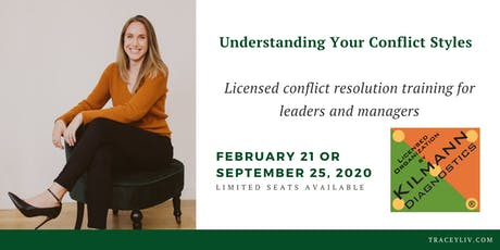 Understanding your Conflict Styles in the Workplace [TKI Assessment] tickets