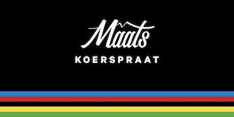 Maats Koerspraat S02E02: Merijn Zeeman tickets