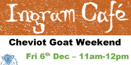 Evening meal for Cheviot Goat Campers, 6th Dec