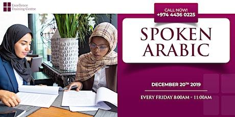 Spoken Arabic Classes tickets