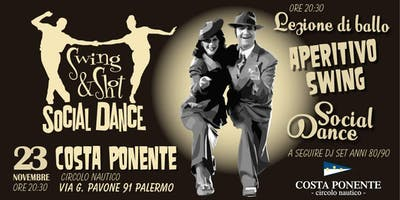 Aperitivo Swing Social Dance Party • Swing&Shot • Costa Ponente