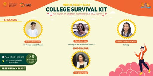 Seminar College Survival Kit HMIK UI 2019