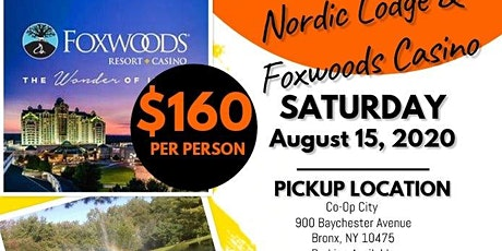 Nordic Lodge All You Can Eat & Foxwoods Casino and Outlets tickets