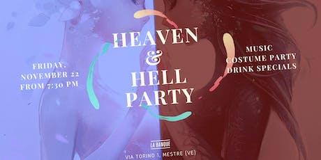 Heaven & Hell Party prés La Banque biglietti