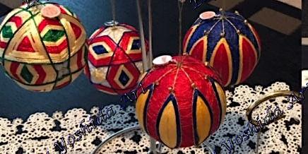 Temari Ball -  Basic Pattern or  Pattern II