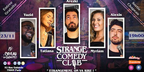 Strange Comedy Club - Stand up #70 billets