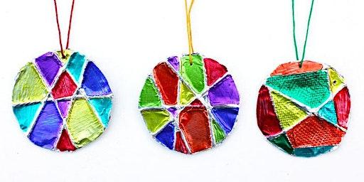 Tin Foil Ball Ornament (6-9 años)