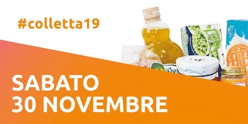 COLLETTA ALIMENTARE SABATO 30 NOVEMBRE 2019
