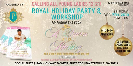 Young Ladies Holiday Party and Workshop