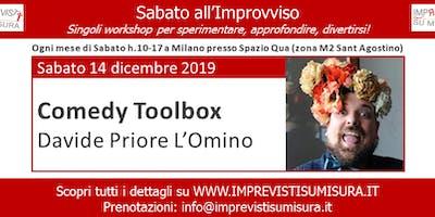 Workshop Comedy Toolbox - Improvvisazione Teatrale