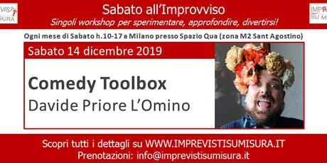 Workshop Comedy Toolbox - Improvvisazione Teatrale biglietti