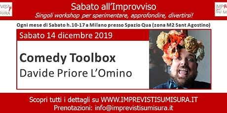 Workshop Comedy Toolbox - Improvvisazione Teatrale tickets