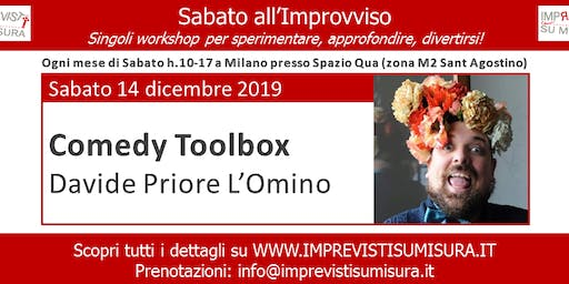 Workshop Comedy Toolbox - Improvvisazione Teatrale