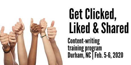 Get Clicked, Read, Liked & Shared in Durham, NC tickets