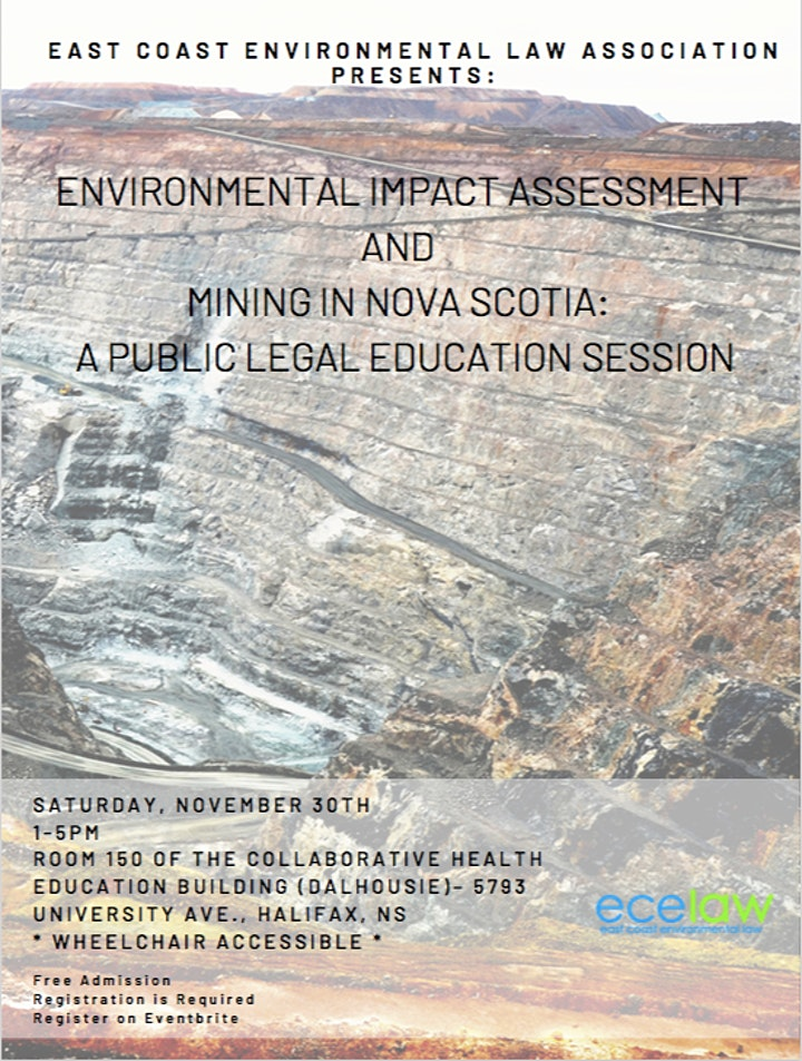 Environmental Impact Assessment & Mining: A Legal Education Session image