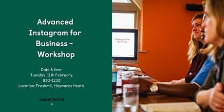 Advanced Instagram for Business Workshop tickets