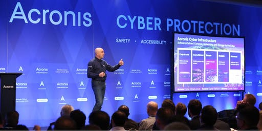 Acronis #CyberFit Summit 2019