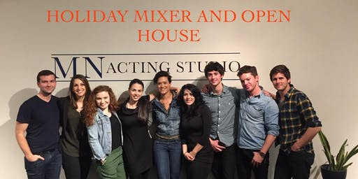MN Acting Studio Darien Open House and Holiday Mixer