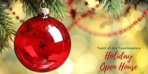 Toast of Jax Toastmasters Holiday Open House