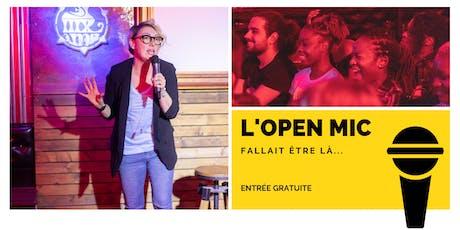 f l'Open Mic de Lausanne  - 6 décembre billets