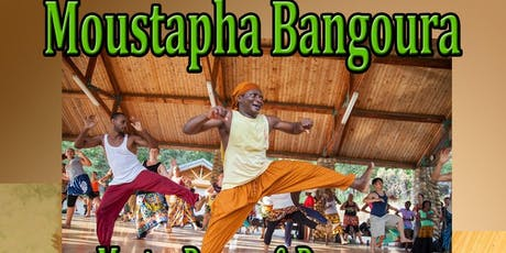Moustapha Bangoura Master Dance Workshop tickets
