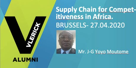 Supply Chain as lever for Competitiveness in Africa. The case study of Cameroon. tickets